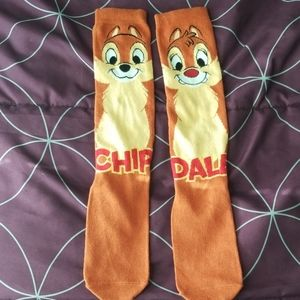 Disney chip and dale socks